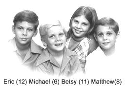 Eric, Michael, Betsy and Matthew Ward